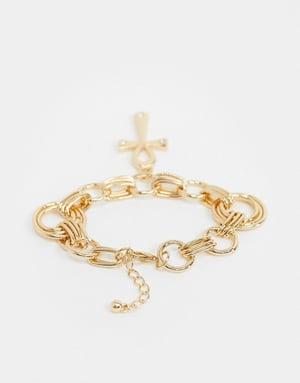 Image of She's Empowered Chunky Charm Bracelet