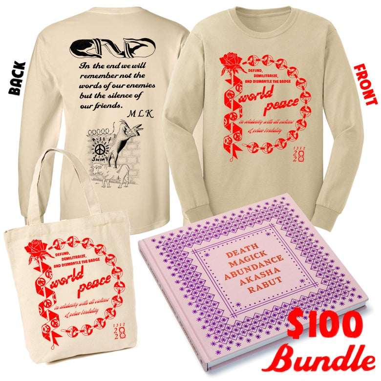 Image of Death Magic Abundance/Shirt/Tote Bundle