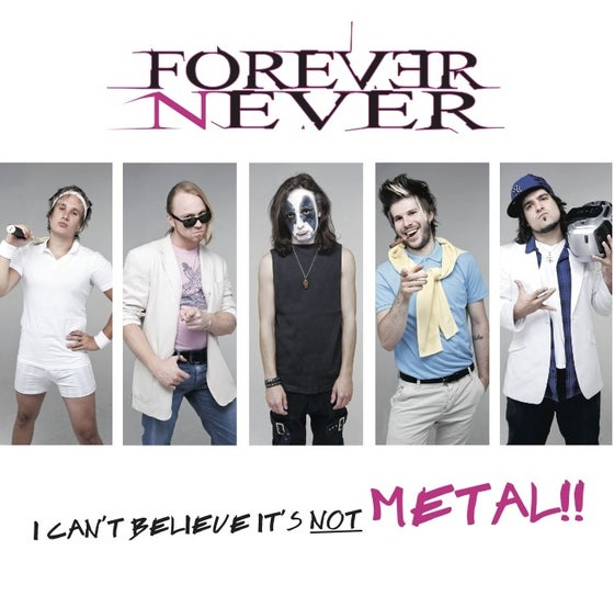 "Image of ""I Can't Believe It's Not Metal"" EP"