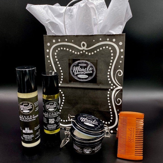 Image of Men's Collection Beard & Hair Care Bundle