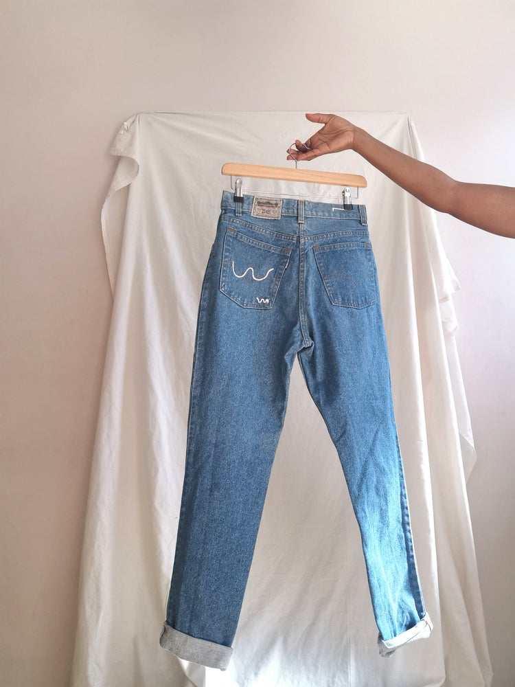 Image of blue jay jeans