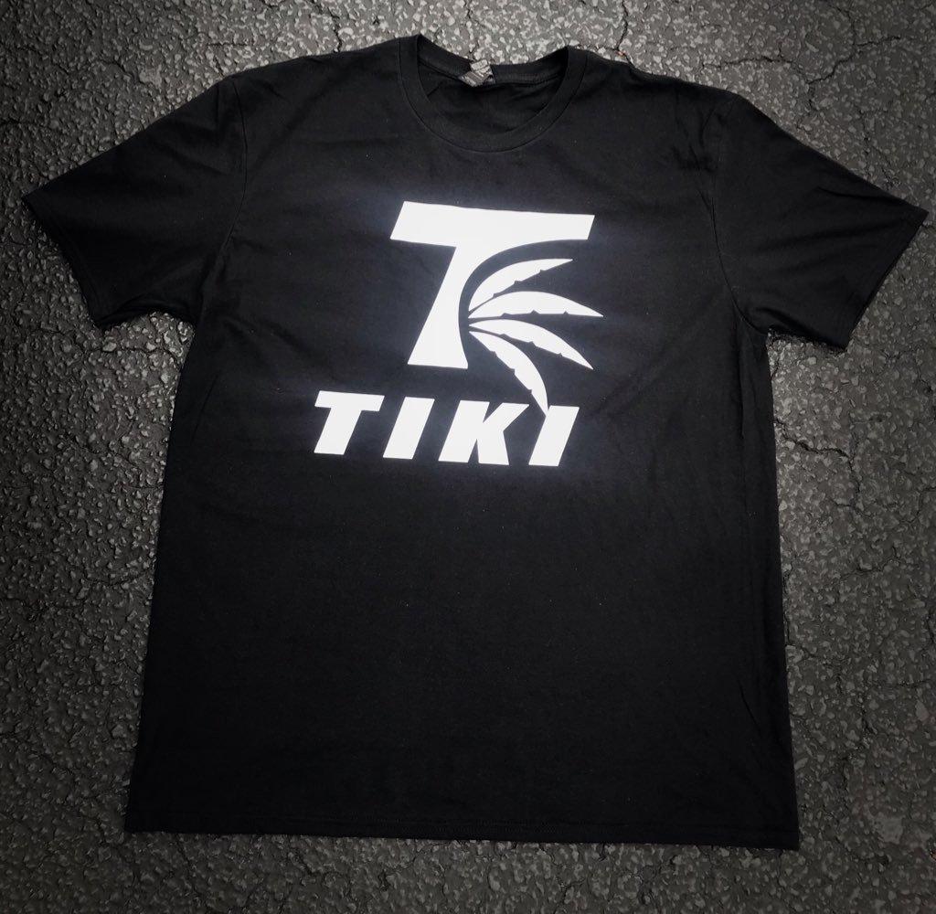 Image of Tiki Logo T-Shirt(Black)