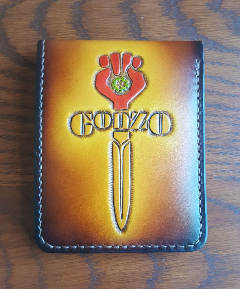 Image of Crying Eye / Gonzo  Wallet for Chambers (PRIVATE SALE)