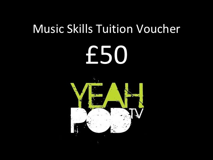 Image of Music Skills Tuition Voucher
