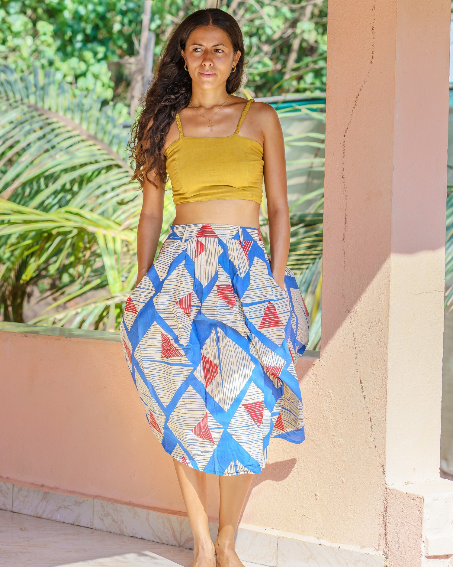 Image of Wanderlust Skirt - In Assorted prints - Made to Order