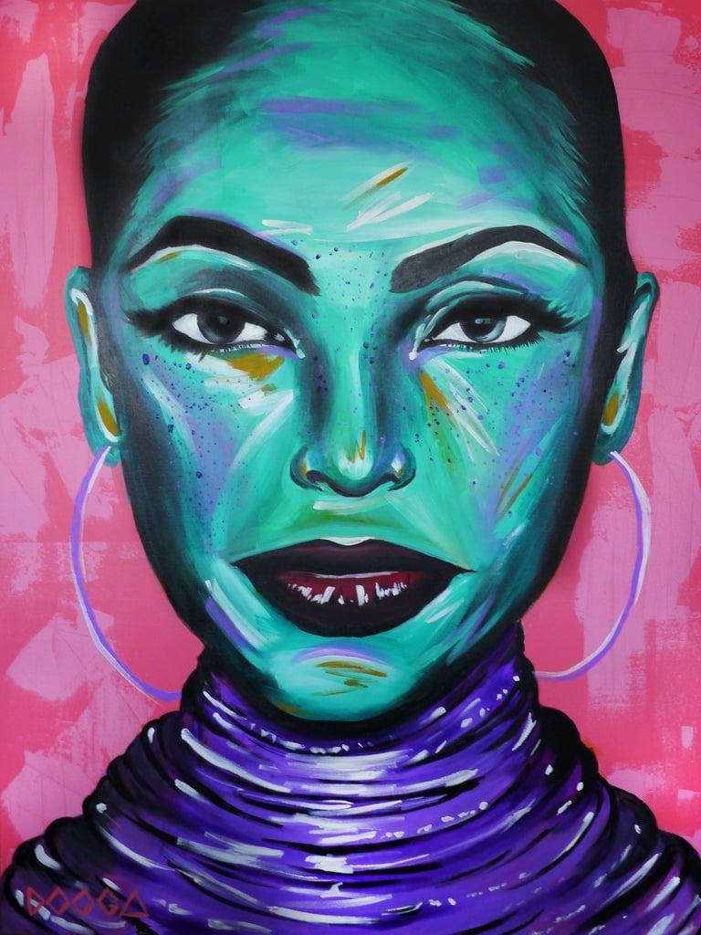 Image of Sade - Canvas Print