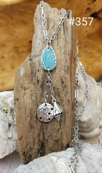 Image of 999 Fine Silver- Handmade- Beach Charms- #357