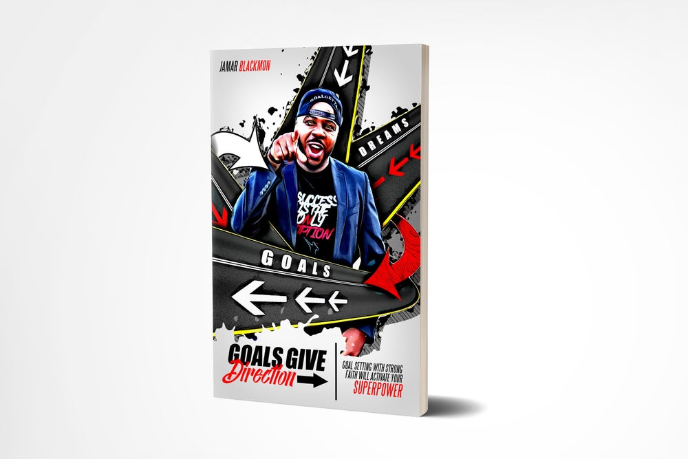 Image of GOALS GIVE DIRECTION BOOK PRE-ORDER