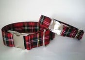 Image of Scottish Tartan Collar on UncommonPaws.com