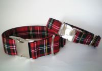 Scottish Tartan Collar