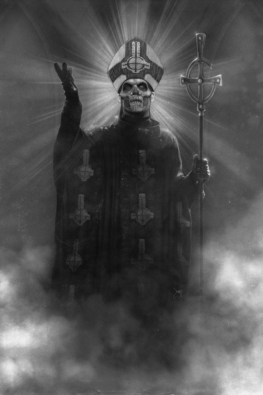 Papa Emeritus II Poster Print