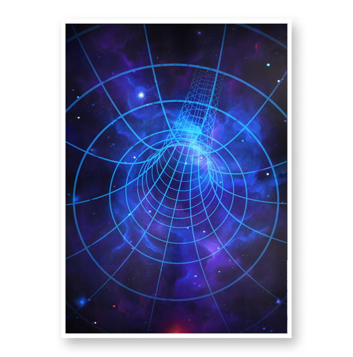 Image of Wormhole 28T - [Signed Open Edition]