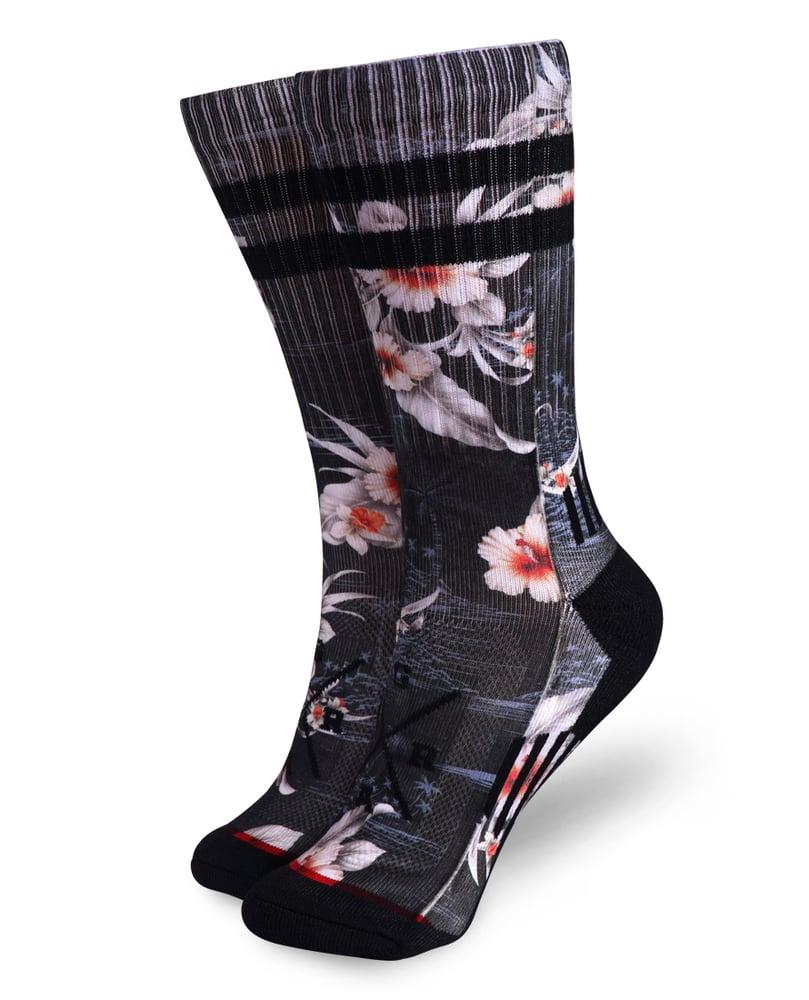 Image of Black Island Socks