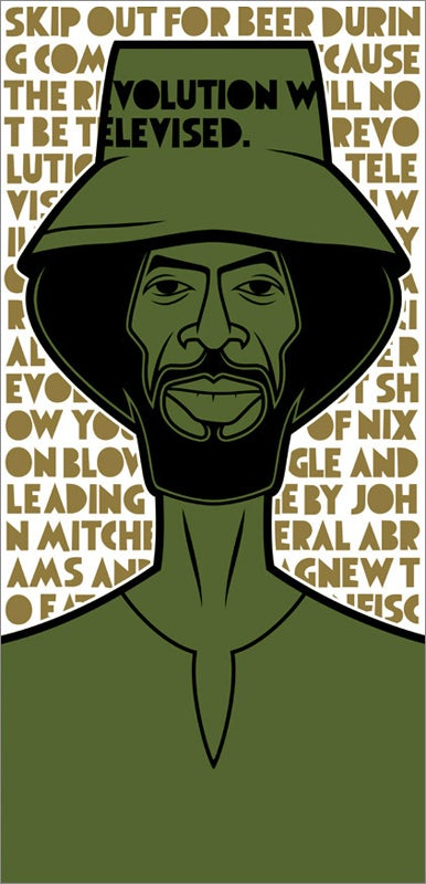 Image of Gil Scott-Heron (Revolution)