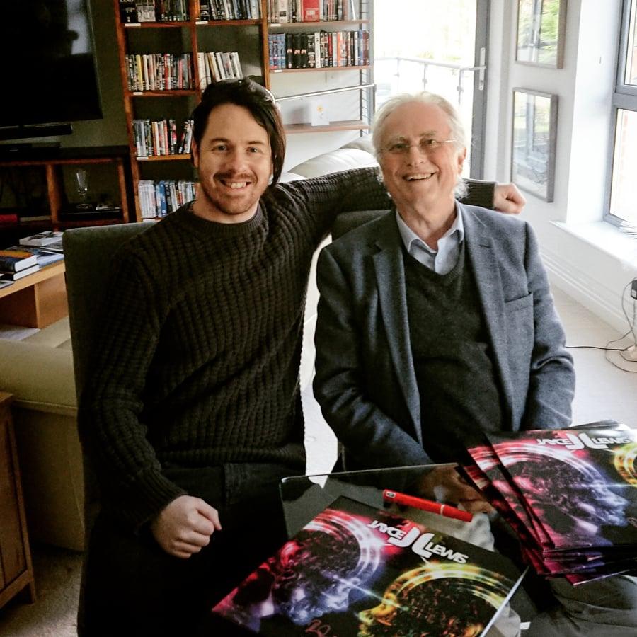 Image of Jayce Lewis - Million Vinyl - Signed by Jayce,  Richard Dawkins & Burton C Bell