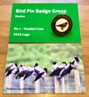2018 Bird Pin Badge Group Members Badge