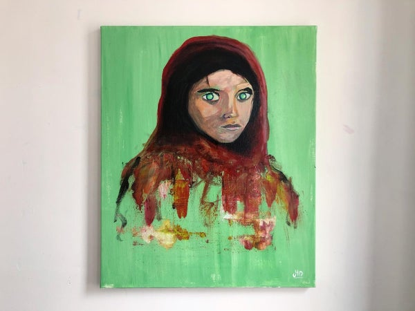 Image of « Afghan girl »