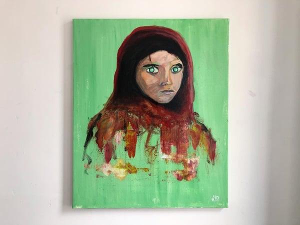 Image of «Afghan girl»