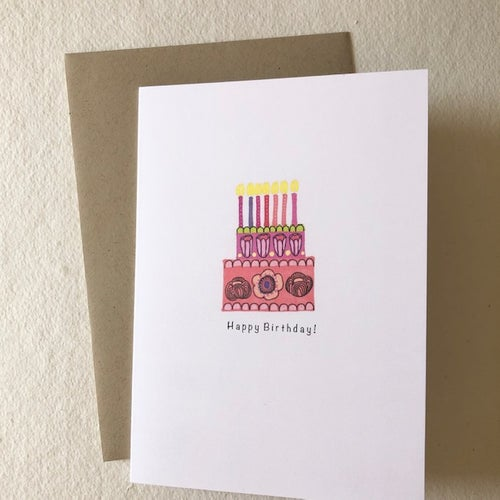 Image of Happy Birthday! Greetings Card
