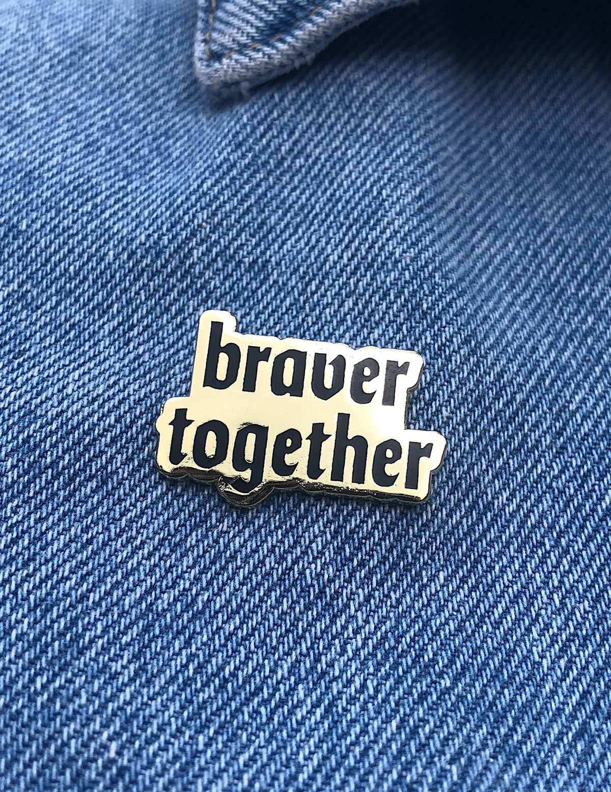 Image of Slogan Enamel Pin