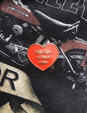 Image of Take Care Enamel Pin