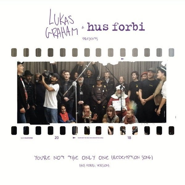 """Image of Lukas Graham & Hus Forbi - You're Not The Only One (Redemption Song) 7"""" record"""