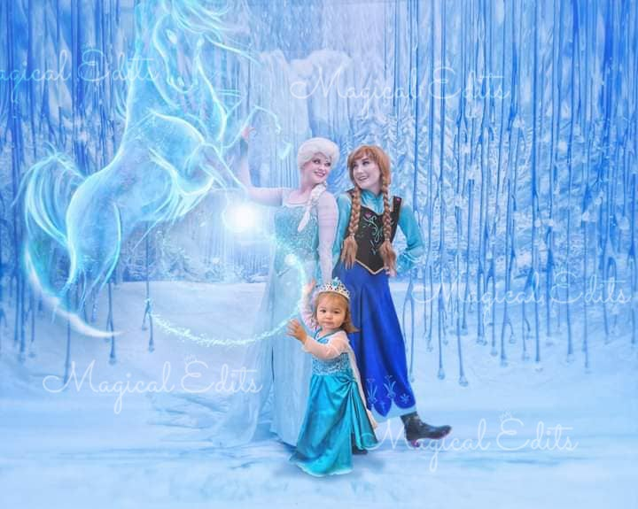 Image of Ice Sisters / Frozen Themed