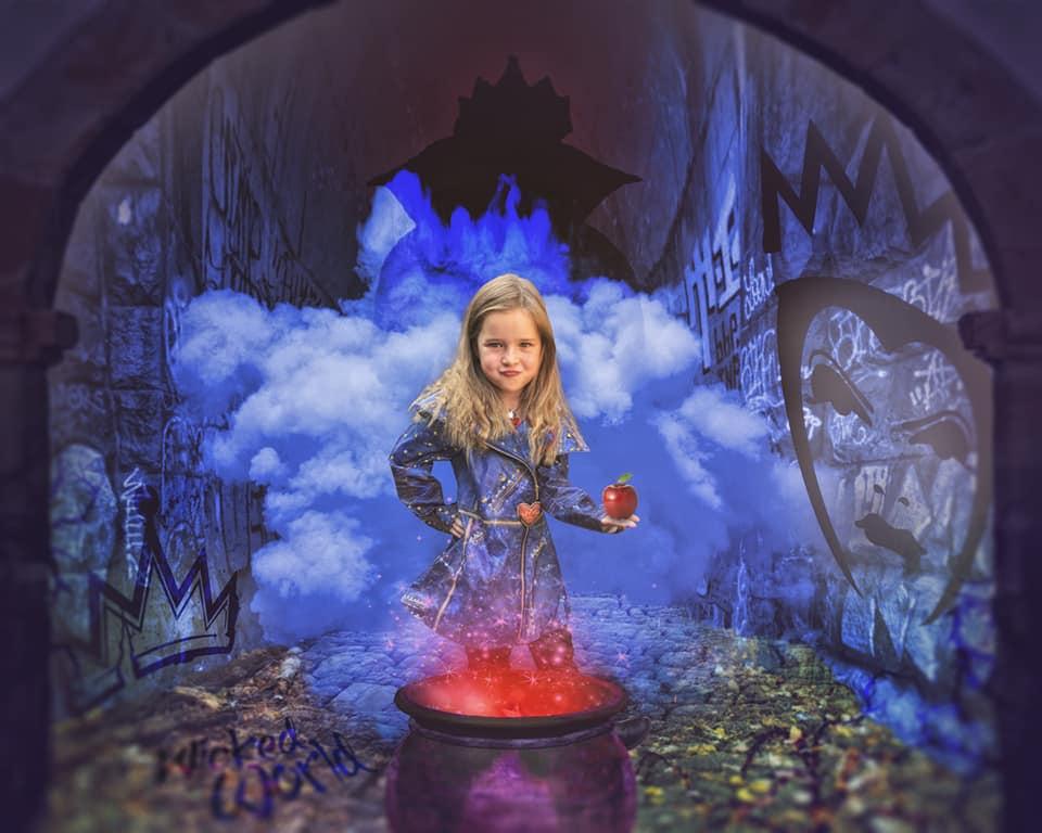 Image of Descendants Themed Edit
