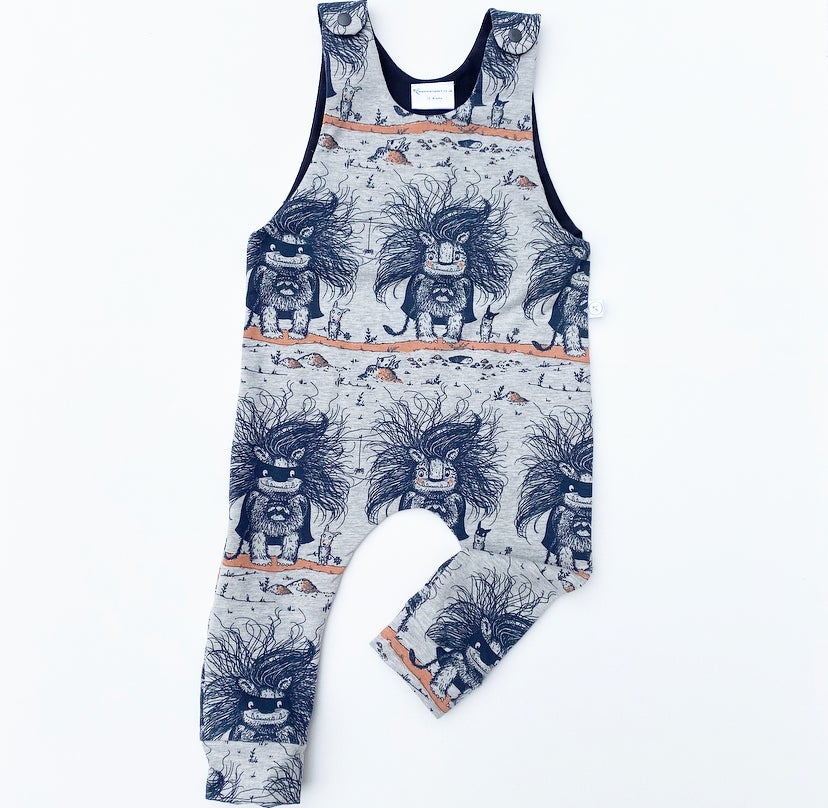Image of Super Troll Romper