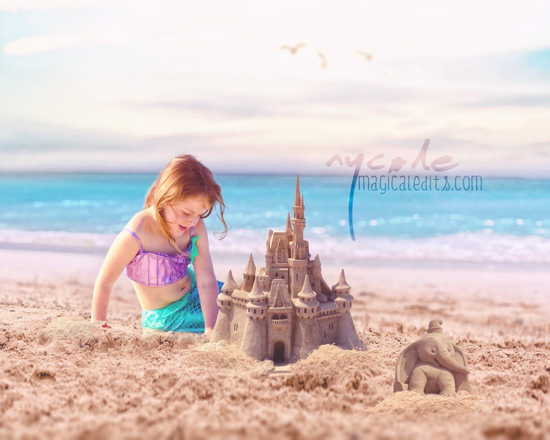 Image of Magical Sand Castle Edit