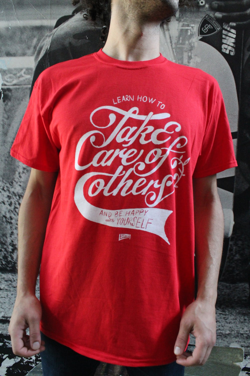 TAKE CARE OF OTHERS TEE FRONT