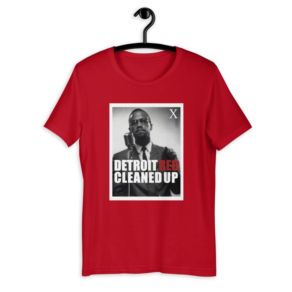 Detroit Red T-Shirt