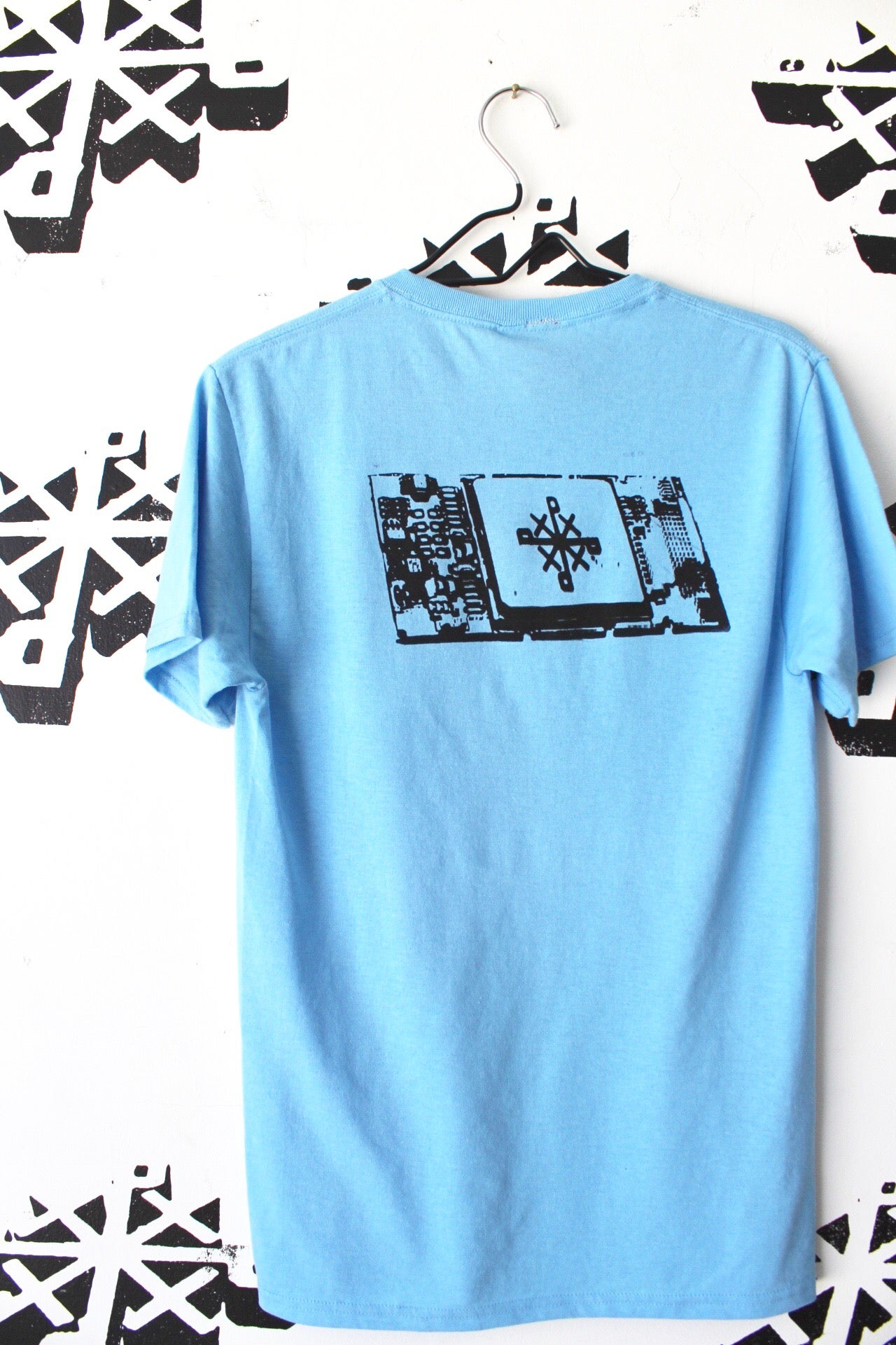 Image of built in tee in baby blue