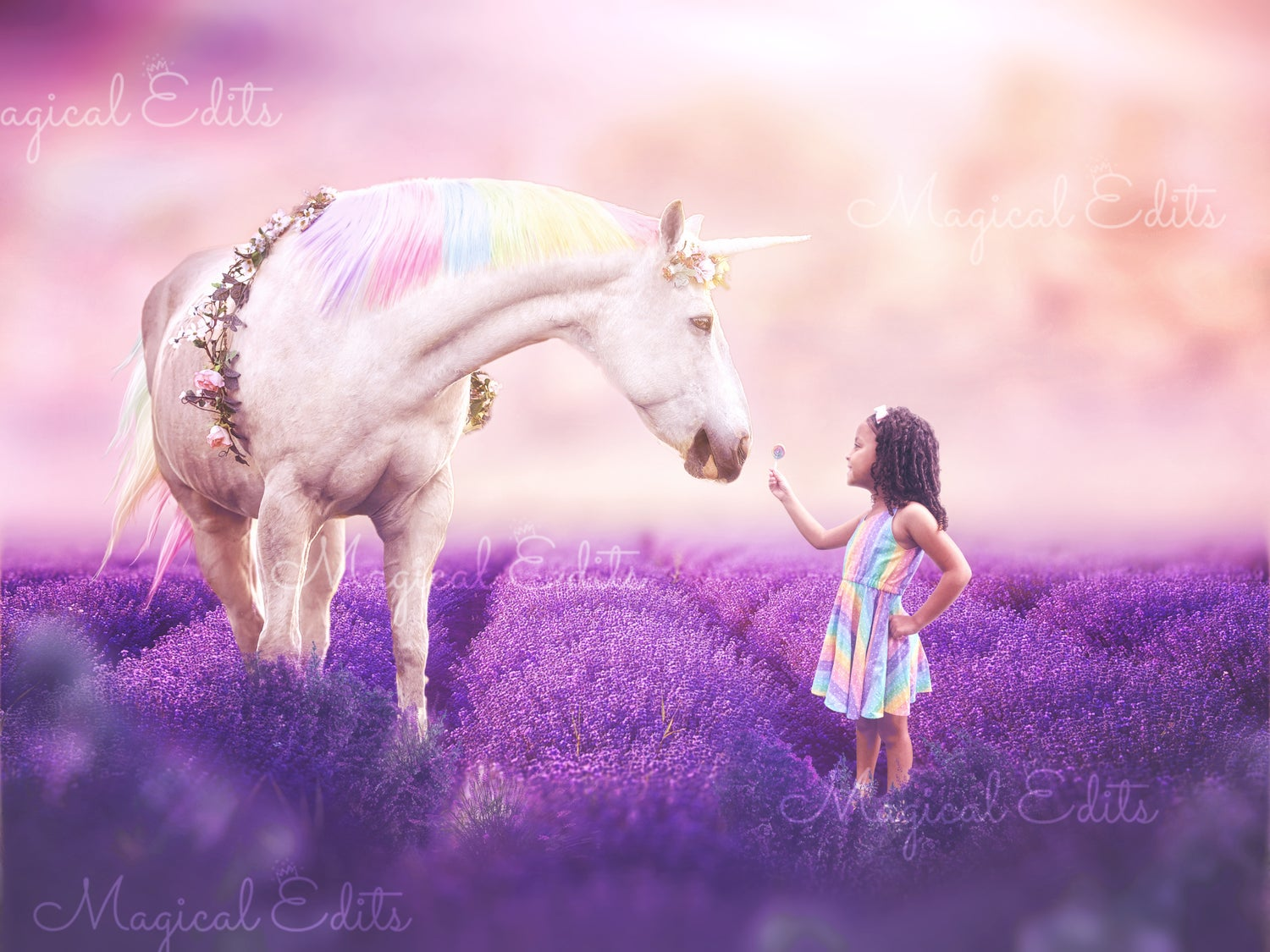Image of Rainbow Dreams Unicorn Edit