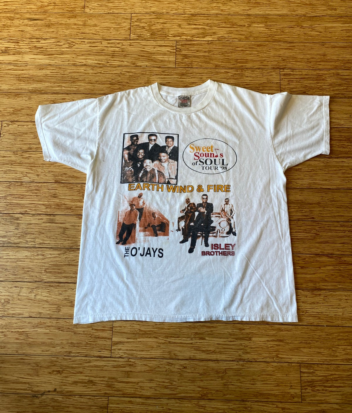 Image of 1998 Sweet Sounds of Soul Tour Tee