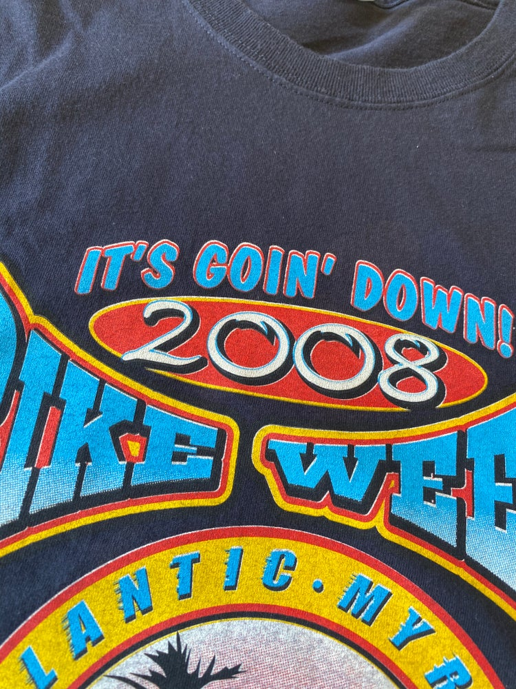 Image of 2008 Black Bike Week Tee