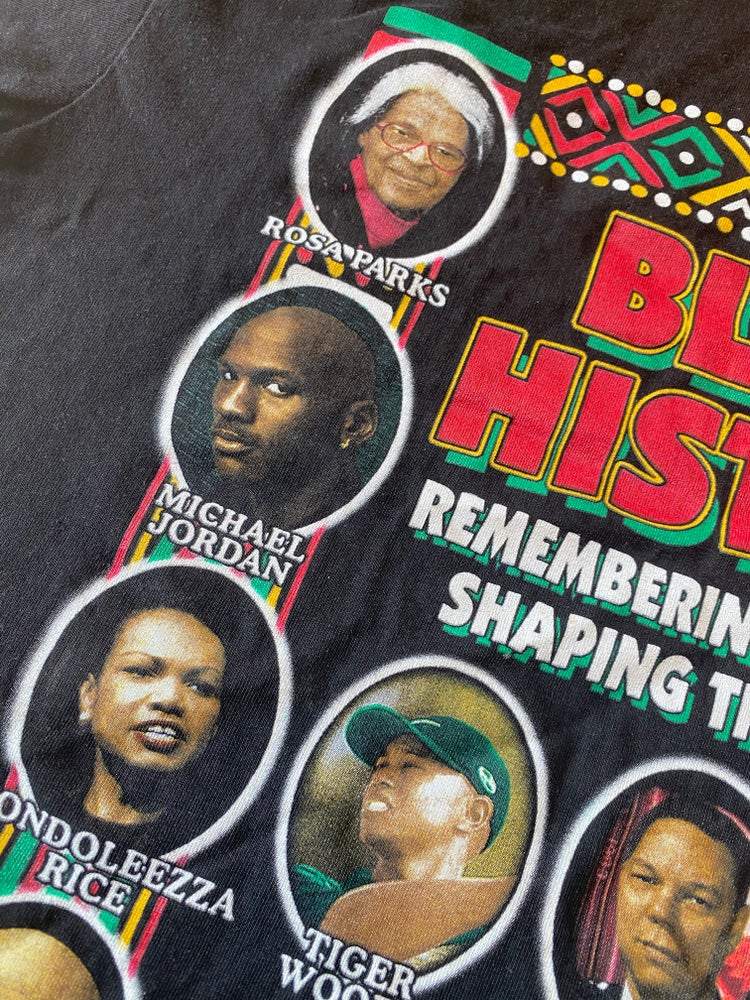 Image of Early 2000s (Pre Obama) Black History Tee