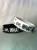 "Image of ""I am WHAT I AM"" bracelet"
