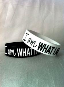 "Image of ""I am WHAT I AM"" bracelet"