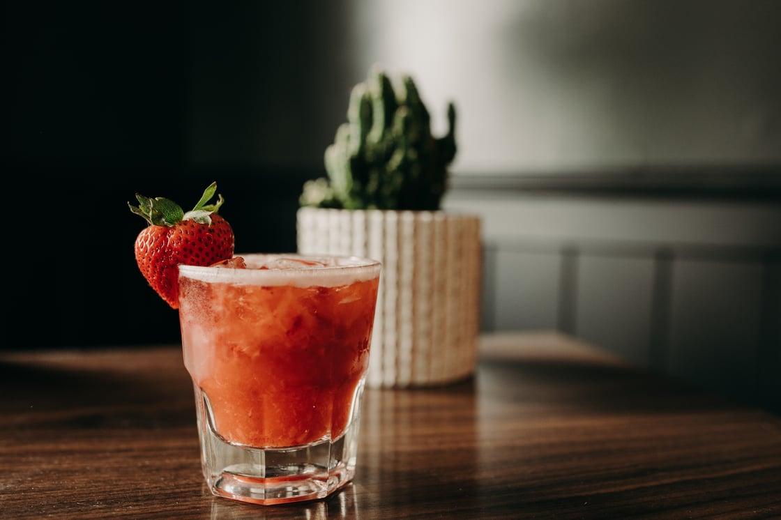 Image of Batched cocktails • mocktails • select liquor bottles • Growlers • NA options • Cans