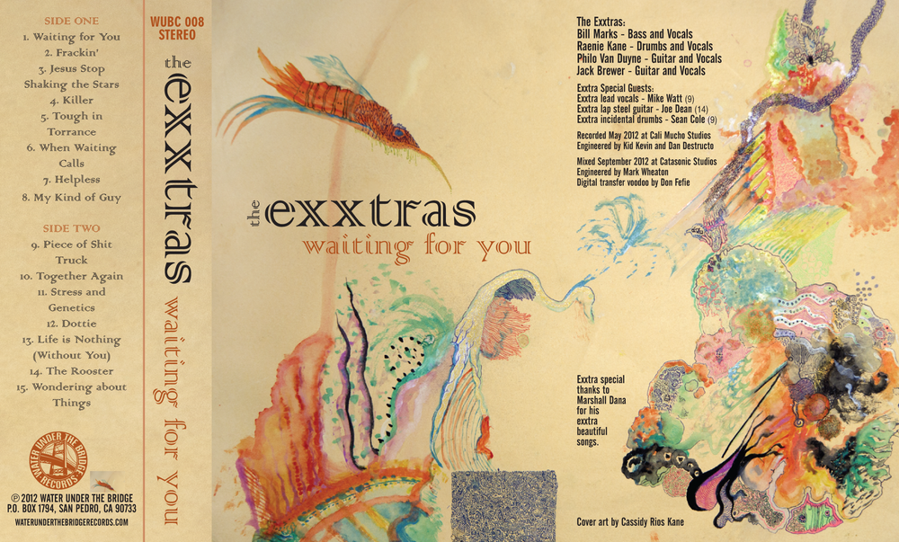 THE EXXTRAS - Waiting For You → cass / poster