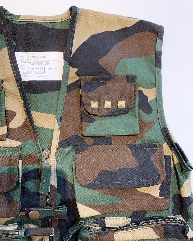 Image of Camo Combat Vest