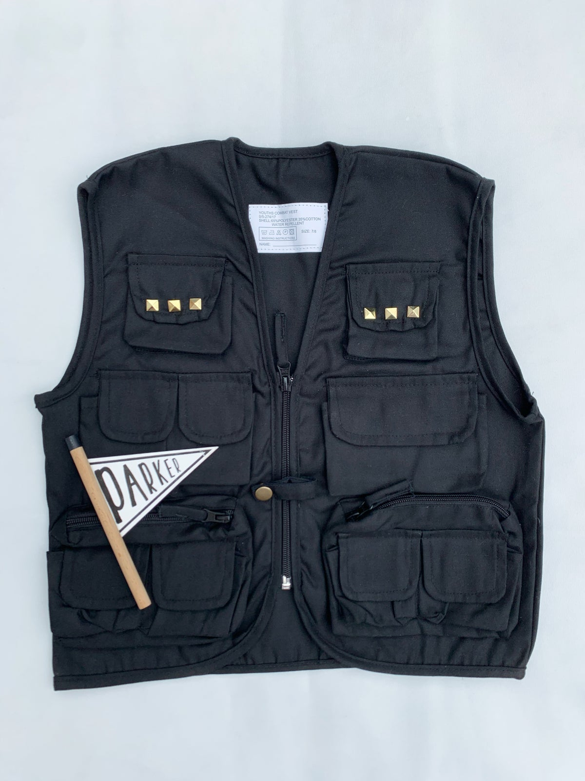 Image of Black Combat Vest