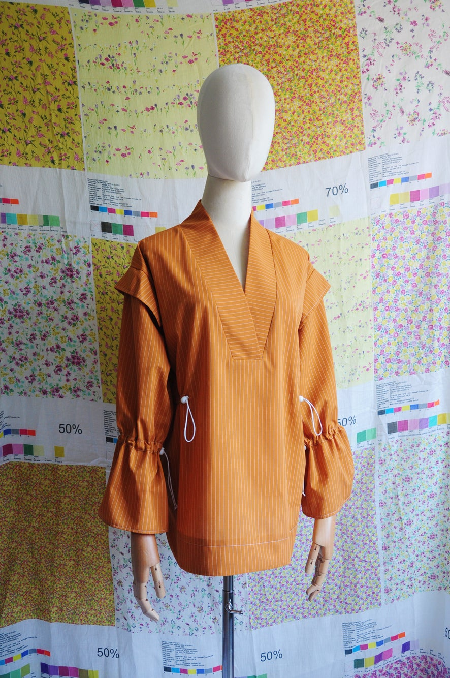 Image of GATHERED BLOUSE