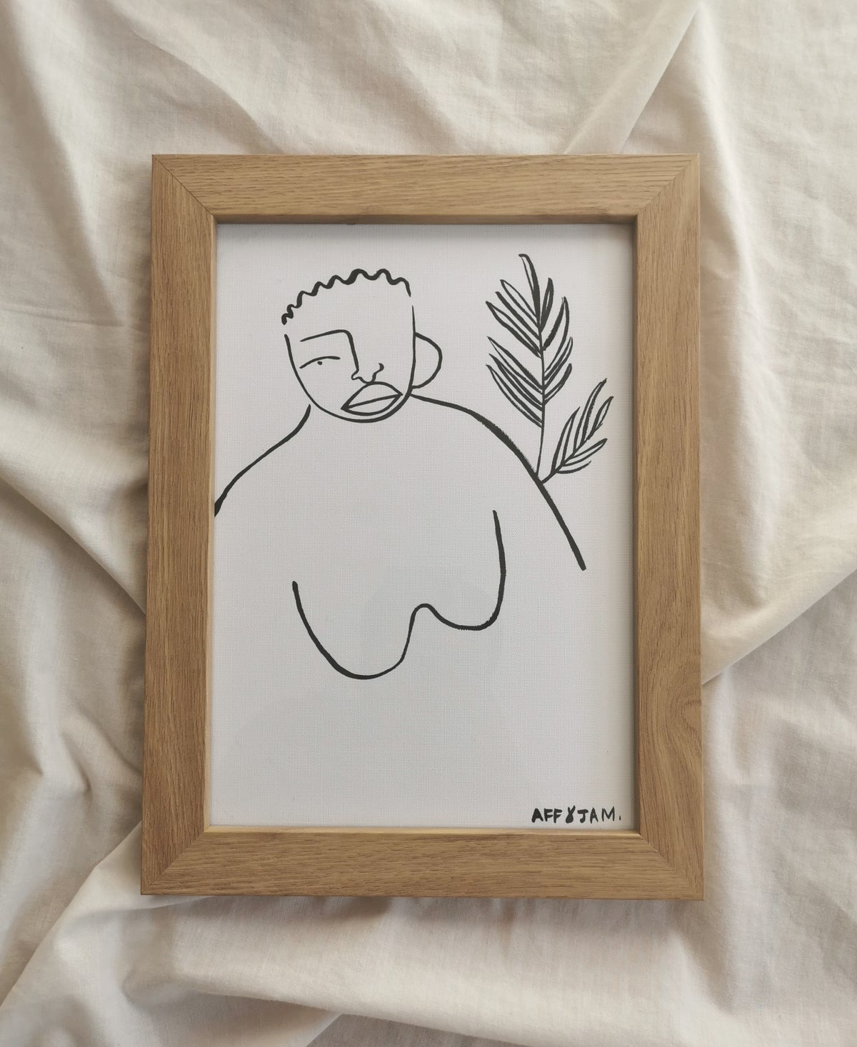 Image of wombman print