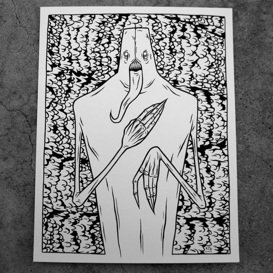 Image of Strawman (scales) - original illustration