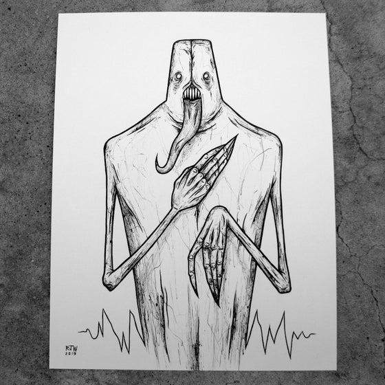 Image of Strawman (monitor) - original illustration