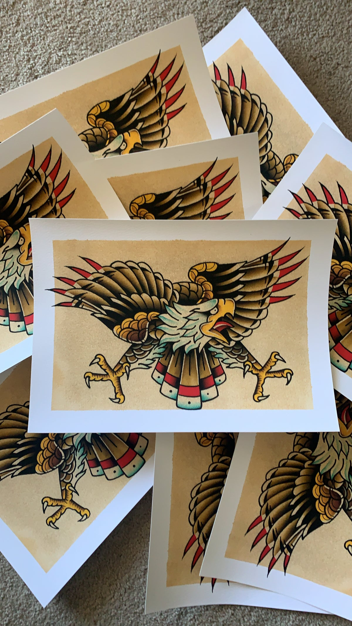 Image of Eagle Print (Limited Edition of 15)