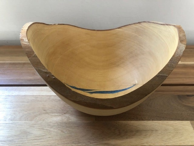 "Image of Bowls By Grant - Oval 11"" x 5""  Handmade Bowl"