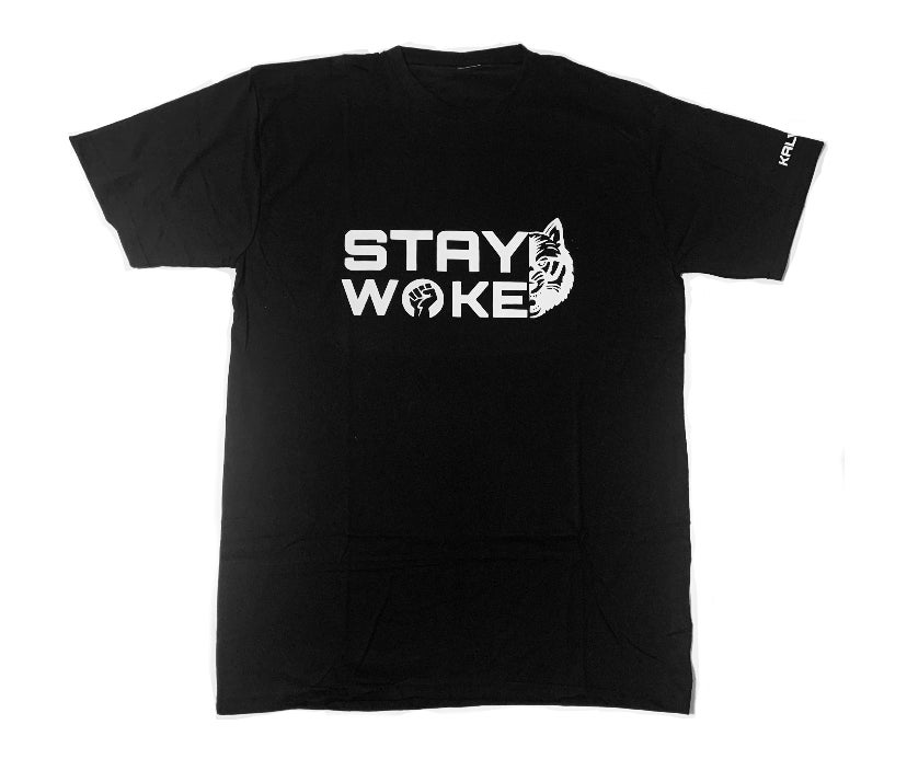 Image of KALVIARI STAY WOKE TSHIRT